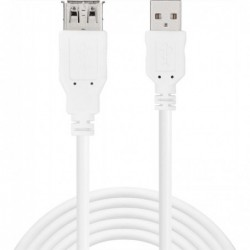 SANDBERG Câble Rallonge Extension USB 2.0 AA 1,8 m