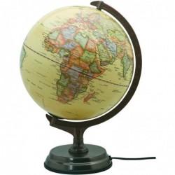 CARPENTRAS SIGN Globe Terrestre Antique Lumineux Diam 30 cm Cartographie Française