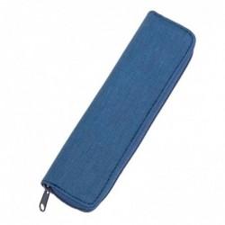 ALASSIO Etui à stylo, pour 2 stylos, bleu