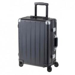 ALUMAXX Trolley de voyage, en aluminium, noir mat
