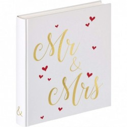 WALTHER Album de mariage Mr & Mrs 28x30,5 50 pages