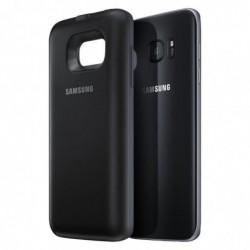 SAMSUNG Coque de batterie pour Samsung Galaxy S7 Edge 3100 mAh Noir