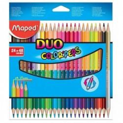 MAPED étui de 24 crayons...
