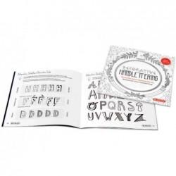 """HERLITZ Übungsheft """"Decorative Handlettering"""", 24 Seiten"""