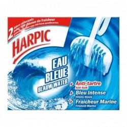 HARPIC Bloc WC Eau Bleue - 2 Blocs Anti-tartre