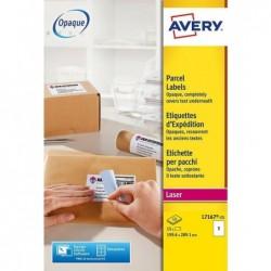 AVERY Boîte de 15 étiquettes Expédition Laser 199,6 x 289,1mm
