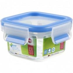 EMSA Boîte de conservation CLIP & CLOSE, carré, 0,25 litre