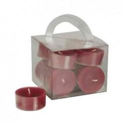 PAPSTAR Chauffe-plats, diamètre: 38 mm, bordeaux