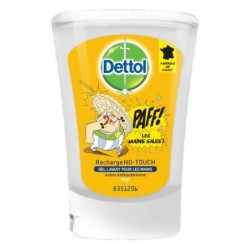 DETTOL No Touch Recharge Savon Liquide Main -  Miel - Action lavante 250 ml