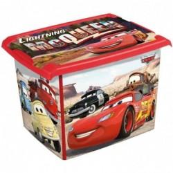 "KEEEPER kids Boîte de rangement filip ""cars"", 20,5 L, rouge"