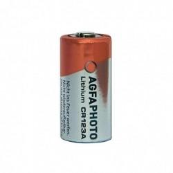 AGFAPHOTO Pile Lithium CR 123A pour Appareil Photo