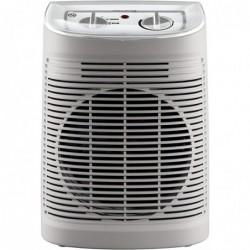ROWENTA Radiateur et Ventilateur Soufflant Ventilation Chaud Froid 2 Vitesses 2400W Silencieux Gris