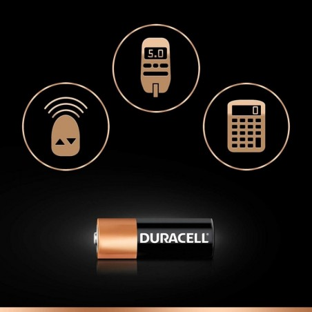 DURACELL Blister de 2 Piles alarme et télécommande MN21 12V sous blister