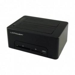 LC POWER Docking station CF/SD card Sata USB 3.0