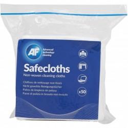 AF Lot de 50 Chiffons synthétiques de nettoyage de surfaces Safecloths