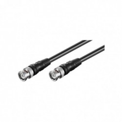 GOOBAY Câble BNC Mâle - Mâle 50 cm Noir