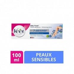 VEET Crème Dépilatoire - Peaux Sensibles Tube de 100 ml