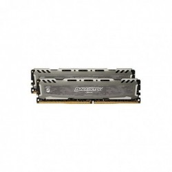 BALLISTIX Mémoire Sport LT 8GB Kit DDR4 4GBx2 2400 DIMM 288pin grey
