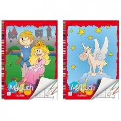 HERLITZ Livre de coloriage A4, 24 pages