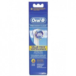 ORAL-B Pack 4 Brossettes PRECISION CLEAN Ronde