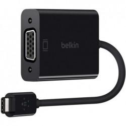 BELKIN Adaptateur USB-C vers VGA Noir (compatible avec le nouvel iPad Pro)