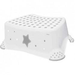 """KEEEPER Marche-pied tomek """"stars"""", blanc & impression"""