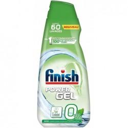 FINISH Gel 0% Ecolabel Détergent Lave-Vaisselle - 900 ml