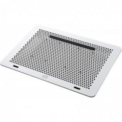COOLER MASTER Support Ventilé PC Portable 17' (2xVentilateurs Amovibles 80mm, HUB USB 5 ports) Gris/Noir