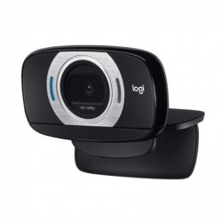 LOGITECH Webcam Noir C615 USB 2.0 - 8 MP - Vidéo 1920 x 1080 - Autofocus - Écran large - Microphone - Moniteur - Smart TV - ...