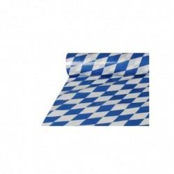 """PAPSTAR Nappe en film """"Bleu/Blanc"""", (l)1,0 x (L)20 m"""