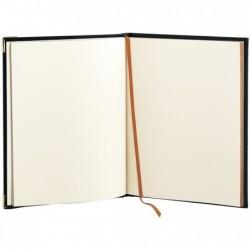 QUO VADIS Livre d' Or NOTES 27 Tranche Dorée Veneto rouge 21 x 27 cm