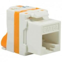 LOGILINK PROFESSIONAL Module keystone Cat.6A, Classe EA, non blindé