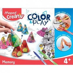 MAPED Creativ COLOR & PLAY Kit créatif Memory
