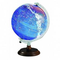 """SIGN Globe physique et politique lumineux """"Constellation"""" Ø 30 cm"""