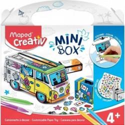 MAPED Creativ MINI BOX Kit de dessin & bricolage Mini VAN