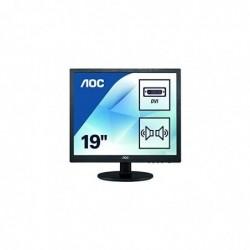 "AOC I960SRDA Ecran PC LED 19"" Noir 1280x1024 VGA/DVI"