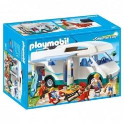 PLAYMOBIL Boîte 6671 : Caravane vacances d'été