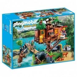 PLAYMOBIL Boîte 5557 : Wild life aventure maison dans l'arbre