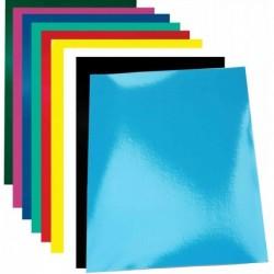 PAVO Paquet de 100 Plats de Couverture Chromolux 250g A4 Blanc Brillant