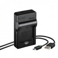 """HAMA Chargeur USB """"Travel"""" pour Nikon EN-EL19"""