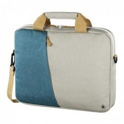 """HAMA Sacoche de PC portable """"Florence"""", jusq. 44 cm (17,3""""), pétrole/gris"""