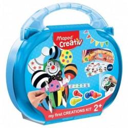 MAPED Creativ Kit de Coloriage et Gommettes Clown