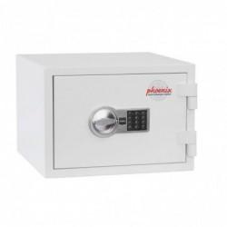 PHOENIX Coffre-fort sécurité et ignifuge CITADEL SS1191E serrure electronique 18L Blanc