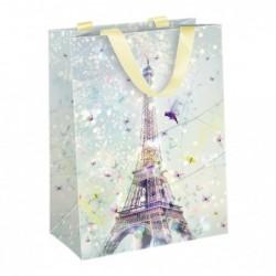 CLAIREFONTAINE Sac papier medium, 19 x 10 x 25 cm, Paris