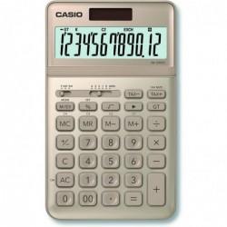 CASIO Calculatrice de bureau JW-200SC-GD solaire / pile Or