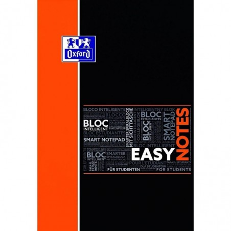 """OXFORD bloc notes spirale """"Easynotes"""" connecté scribzee 5x5 160pages 210x315mm 4 perfos"""