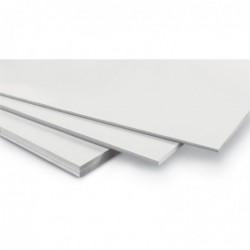 WONDAY Carton mousse blanc 3 mm format 29.7 x 42 cm