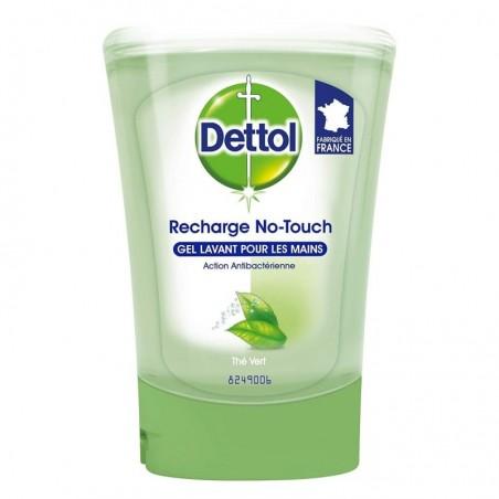 DETTOL No Touch recharge Thé Vert Flacon de 250 ml
