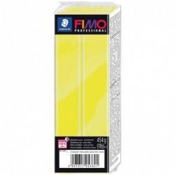 FIMO Pâte à modeler professional, jaune pur, 454 g