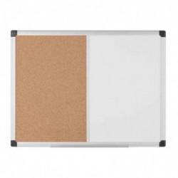 BI-OFFICE Tableau mixte, tableau blanc / liège, 1.200x900 mm